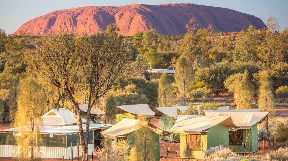 Australien Uluru Camp