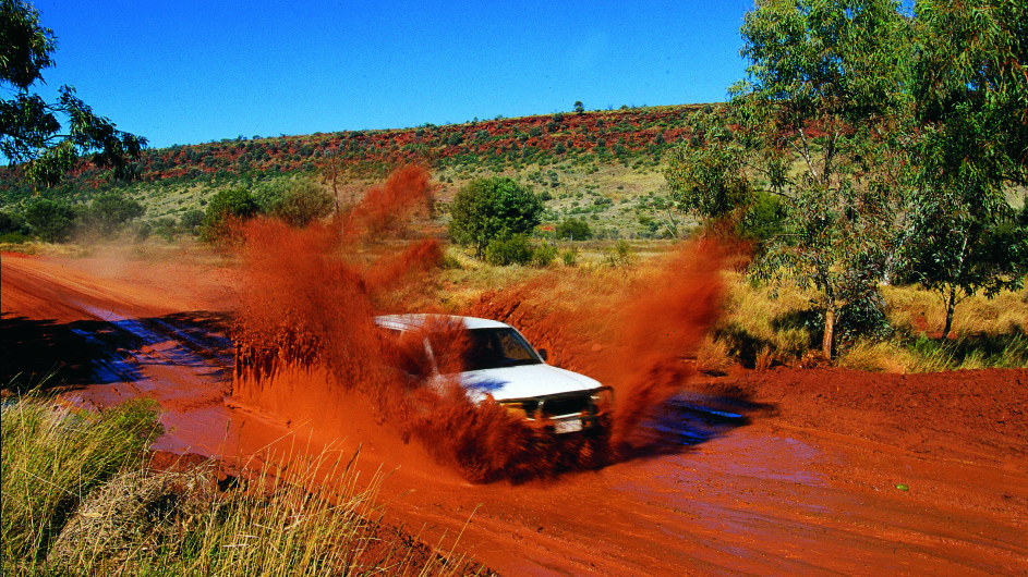 Australien Selfdrive Red Center