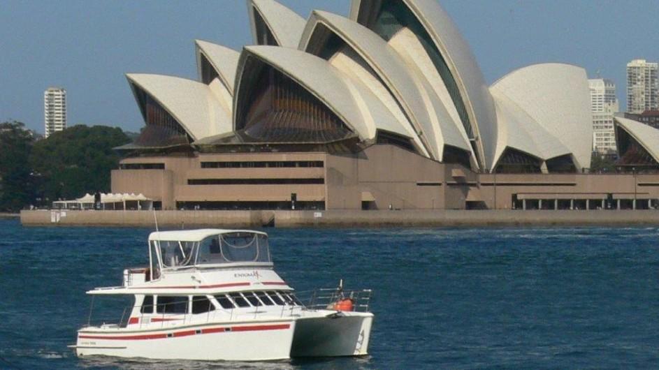 Australien Sydney Bootstour Enigma X