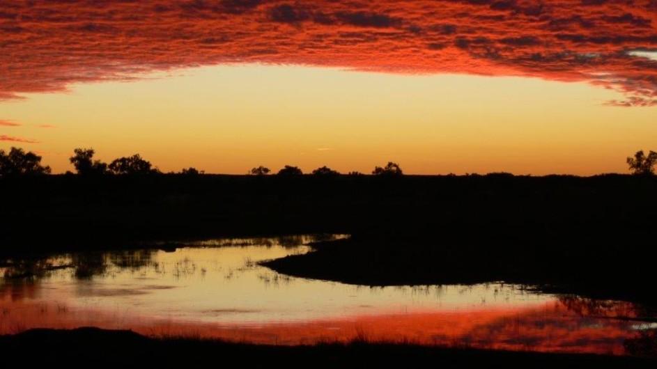 Australien Sonnenuntergang