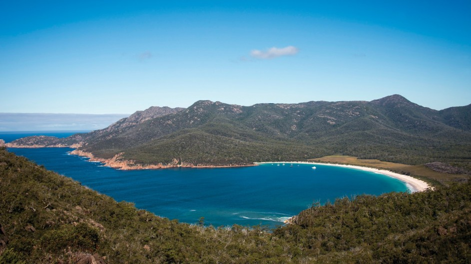 Australien Tasmanien Wineglass Bay