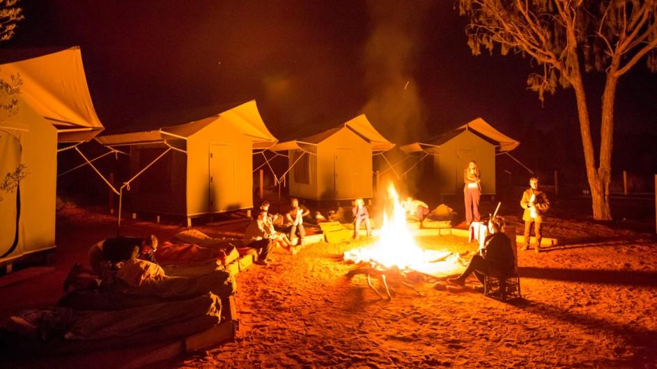 Australien Zeltcamp Wayoutback