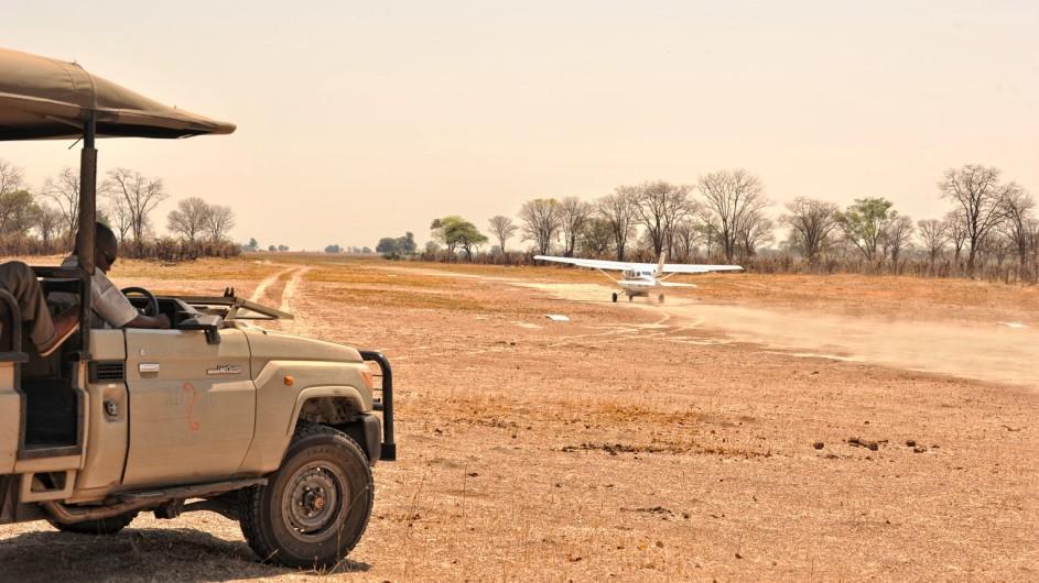 Botswana Linyanti Bush Camp Anreise