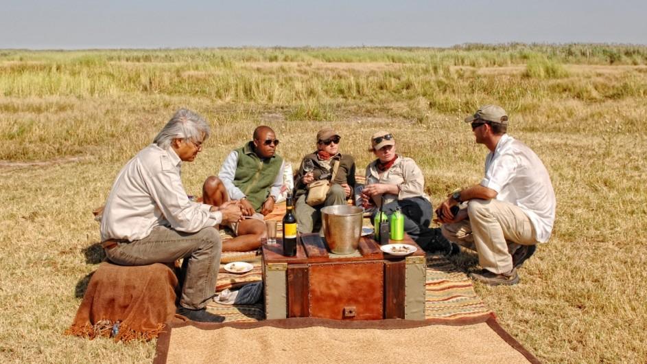 Botswana Linyanti Bush Camp Picknick