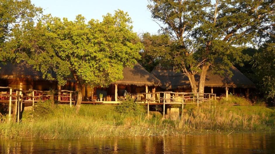 Botswana Camp Kwando Ansicht