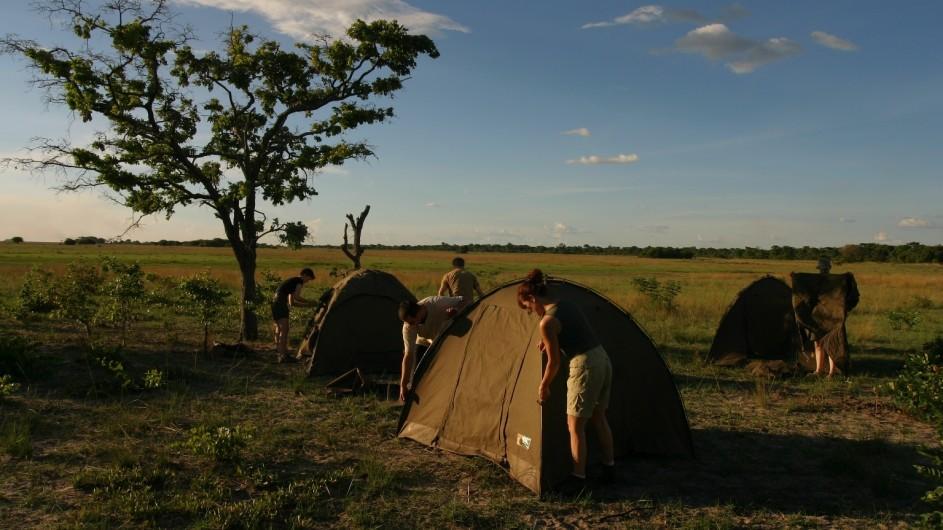 Botswana Bushway Safaris Campaufbau