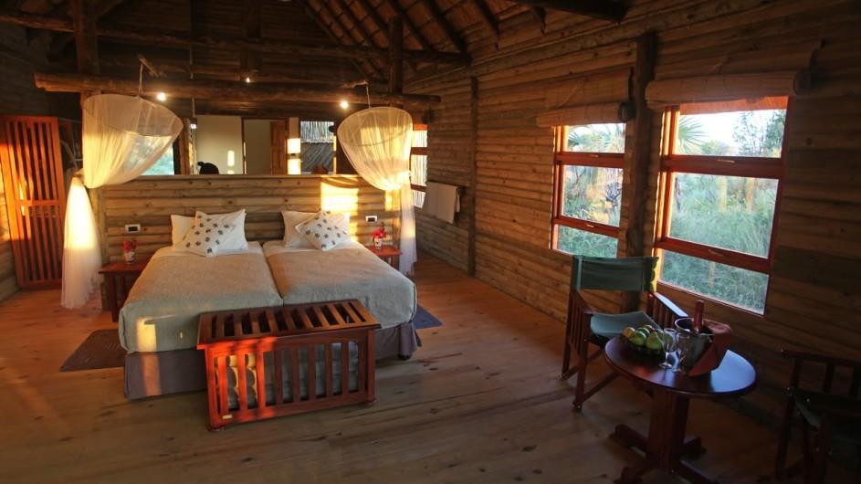Botswana Nata Lodge Zimmer