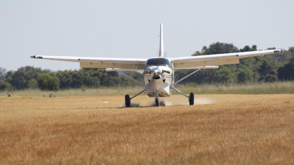 Botswana Flugsafari Desert and Deltas