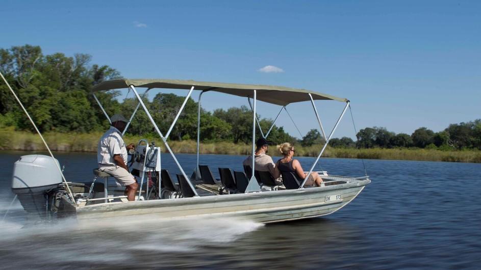 Botswana Camp Okavango Bootsausflug
