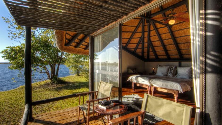 Botswana Chobe Savanna Lodge Zimmeransicht