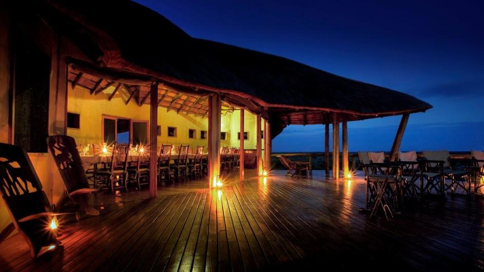 Botswana Tau Pan Camp Haupthaus