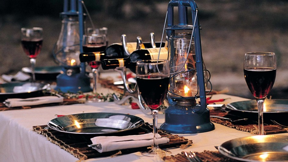 Botswana Letaka Safaris Dinner