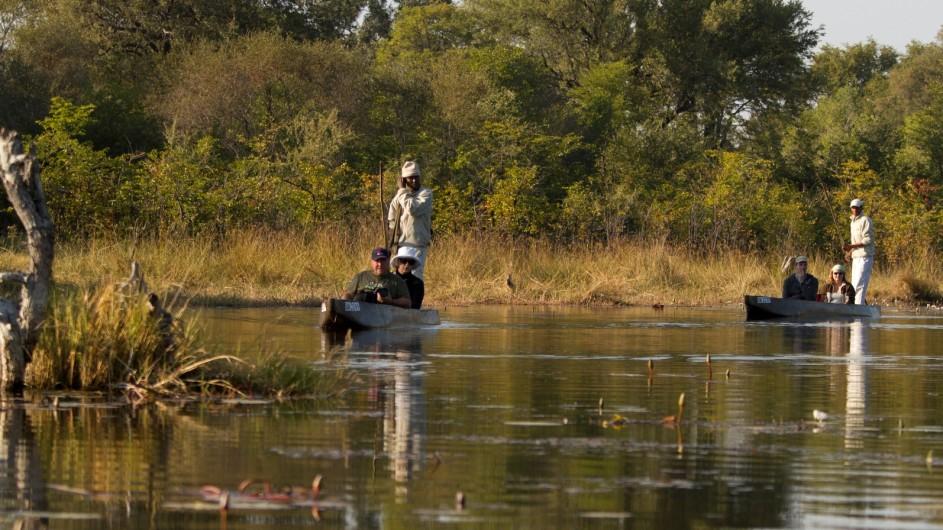 Botswana Letaka Safaris Mokoro Ausflug