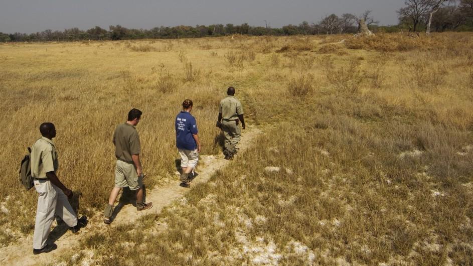 Botswana Okavango Delta Kanana Fusspirsch