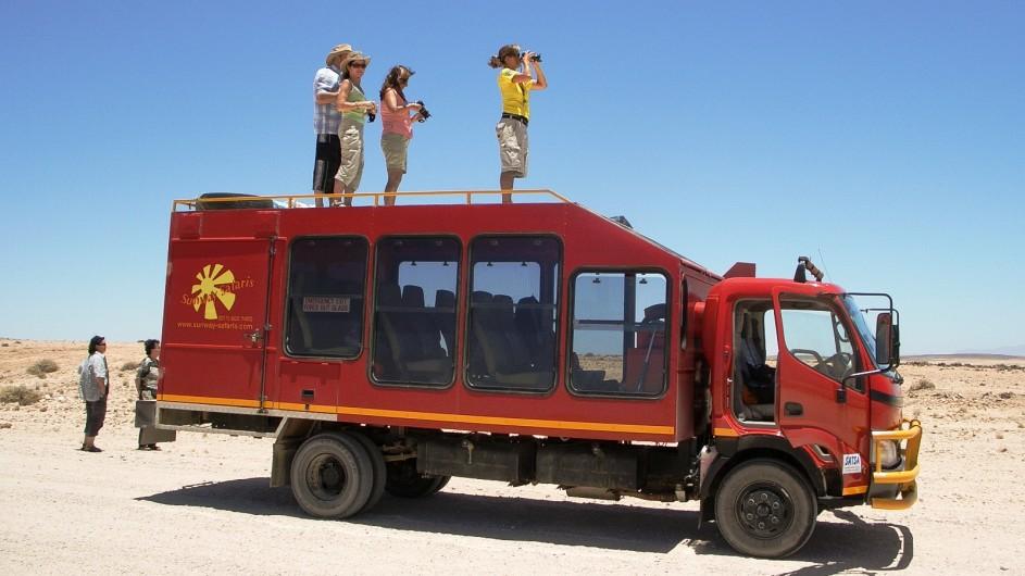 Botswana Sunway Safaris Fahrzeug