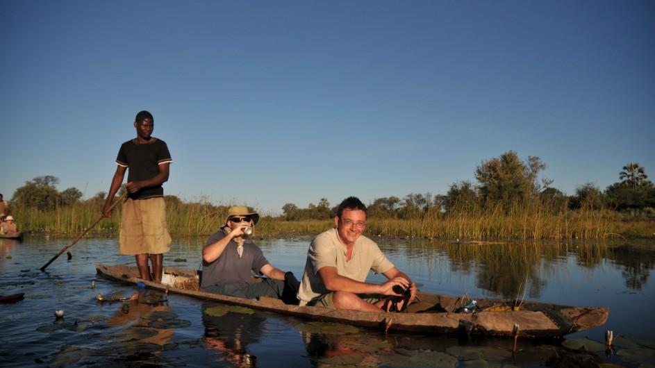 Botswana Sunway Safaris Mokorofahrt im Okavango Delta