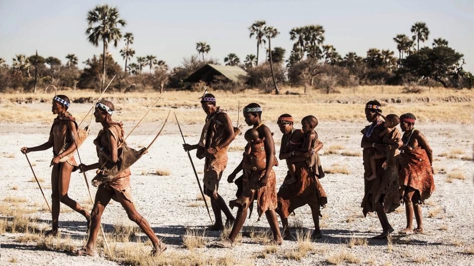 Botswana - Jacks Camp Bushmen