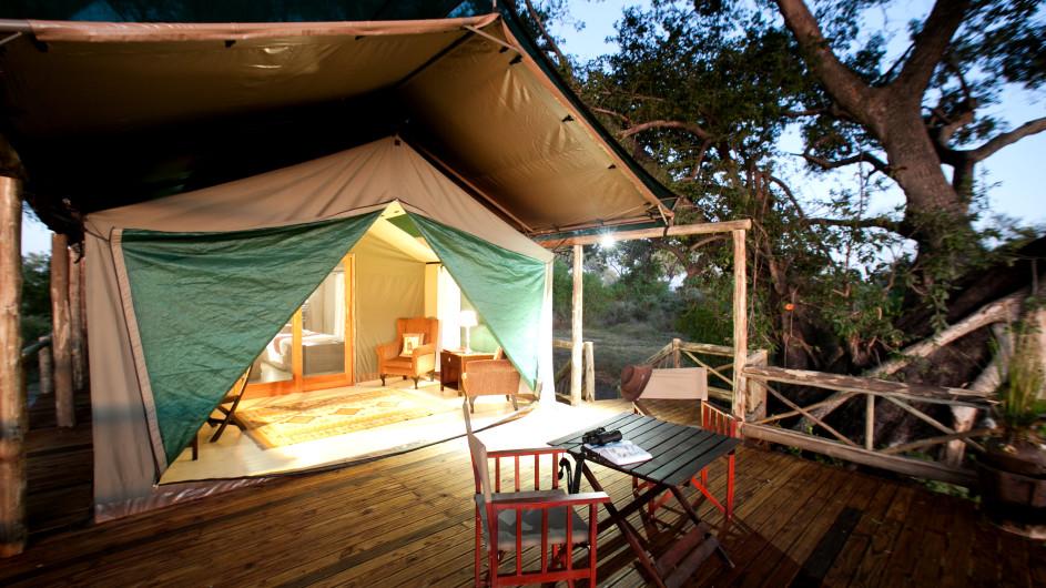 Botswana Pom Pom Camp Zelt
