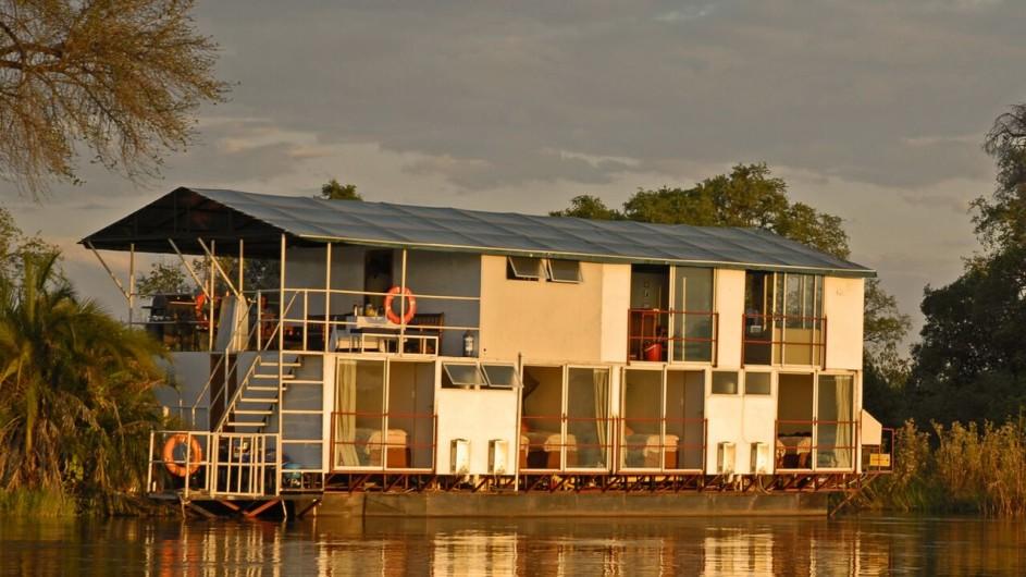 Botswana Kabbo Hausboot