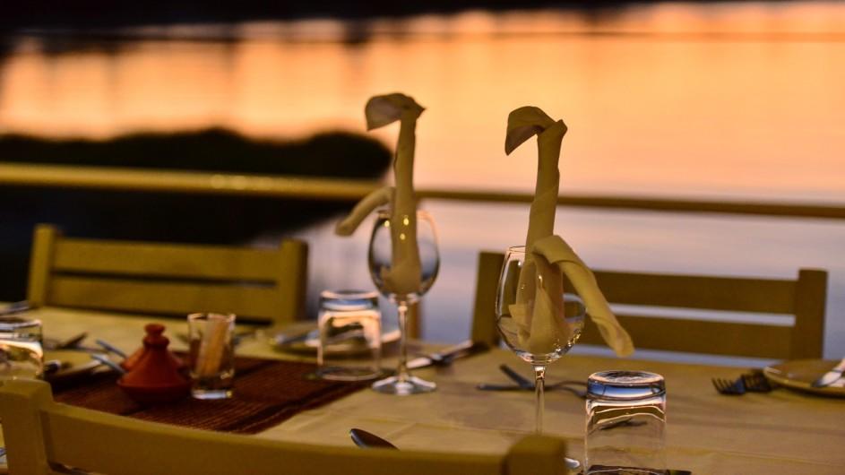 Botswana Chobe Princess Dinner