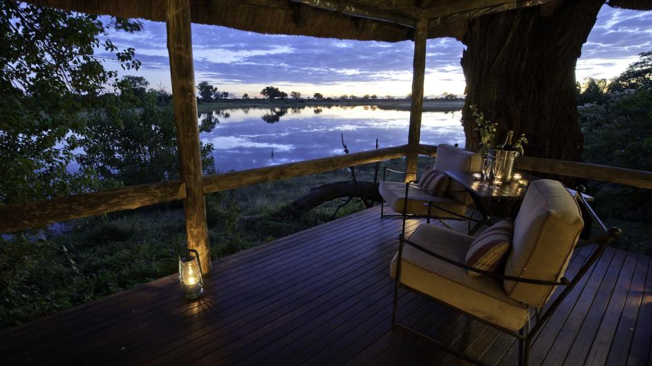 Botswana Camp Savute Ausblick