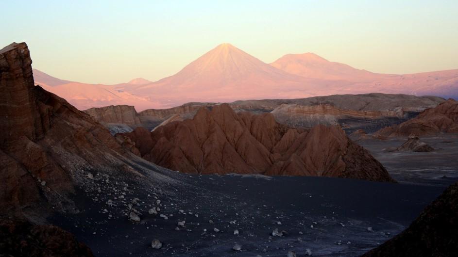 Chile Atacama Wüste Mondtal