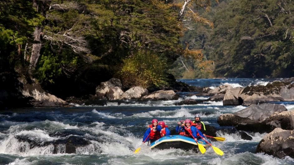 Chile Pucon Raftin