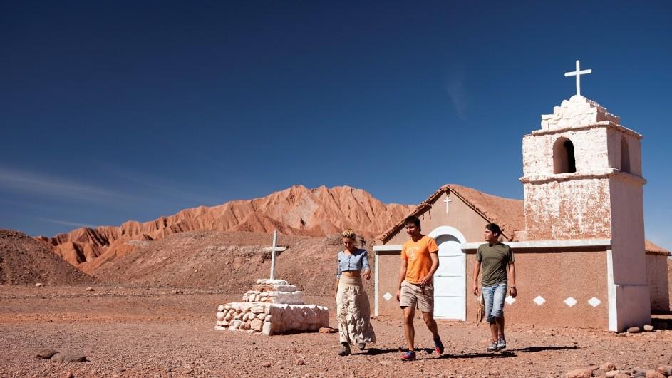 Chile Atacama Wüste San Pedro Iglesia Catarpe