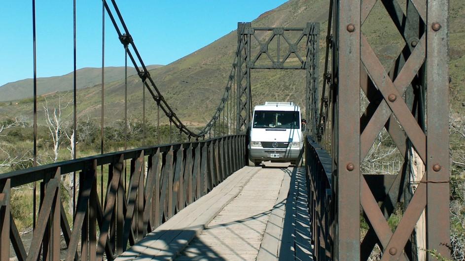 Chile Torres del Paine Brücke