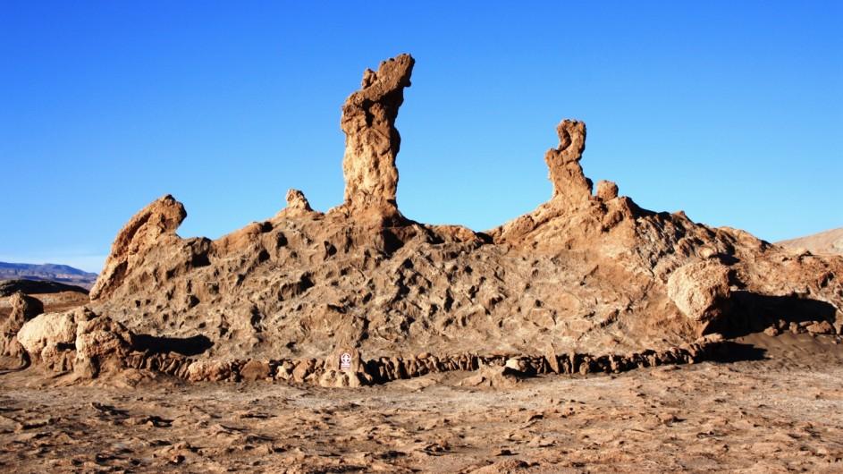 Chile Los Tes Marias Atacama Wüste