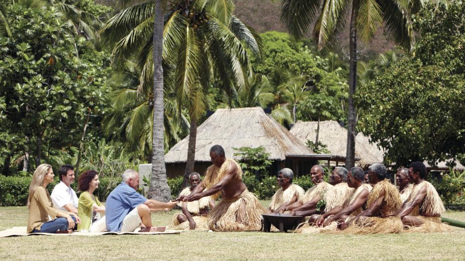 Fiji Kava Zeremonie