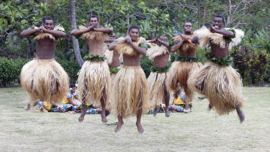 Fiji Inseln Yasawa Inseln Meka Tänzer