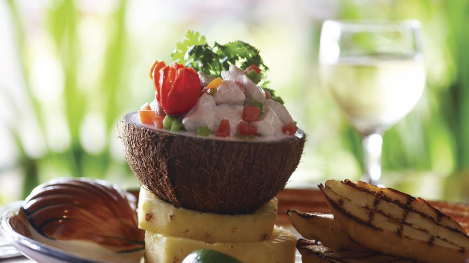 Fiji Inseln Tropisches Essen
