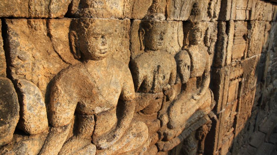 Indonesien - Java -Relief am Borobudur