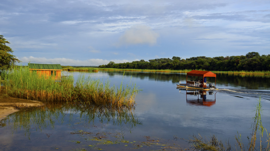 Namibia Hakusembe River Lodge Bootsausflug