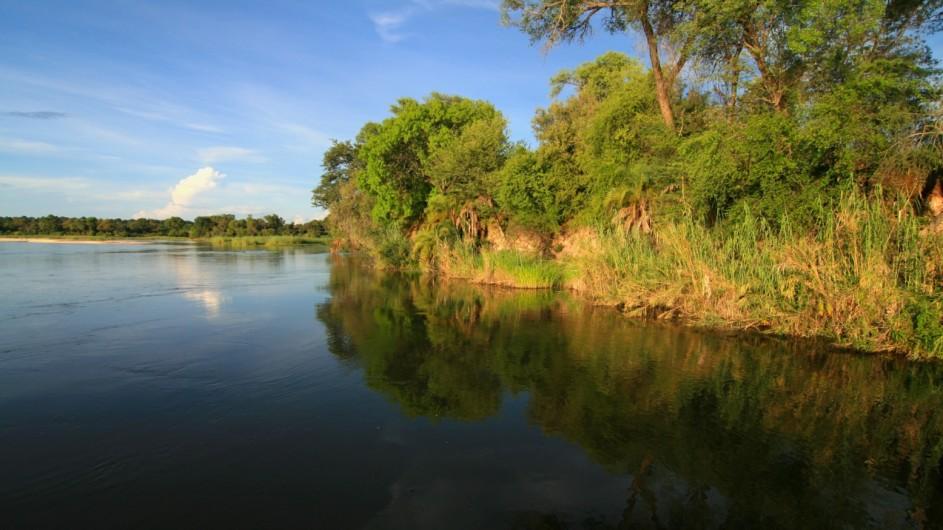 Namibia Caprivi Okavango River