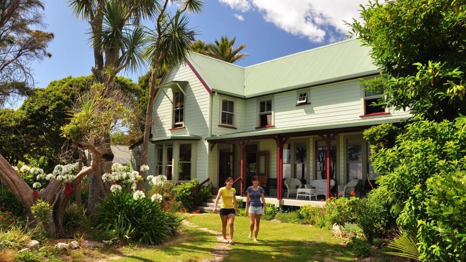 Neuseeland Abel TAsman Nationalpark Meadowbank Homestead