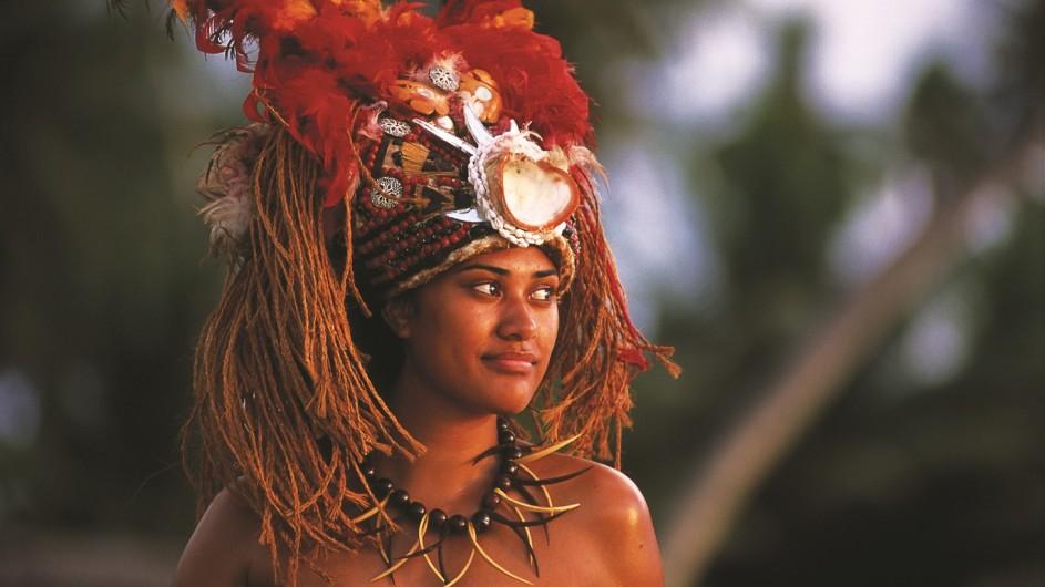 Samoa Traditionelle Kleidung