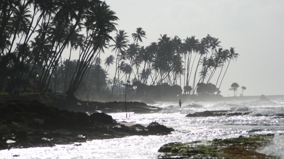 Sri Lanka Strand bei Galle