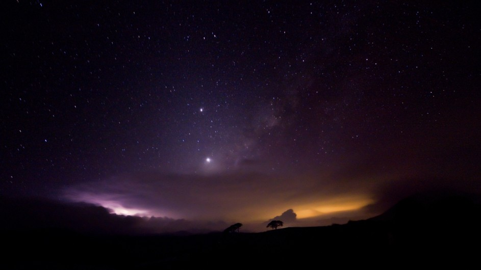 Sri Lanka bei Nacht