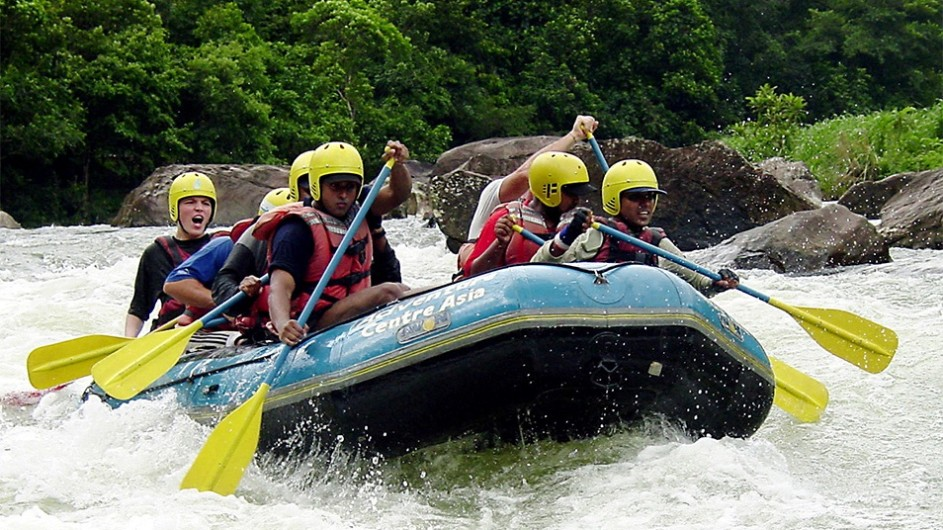 Sri Lanka White Water Rafting