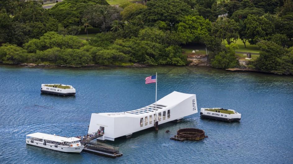 USA Hawaii Oahu Gedenkstätte Pearl Harbour