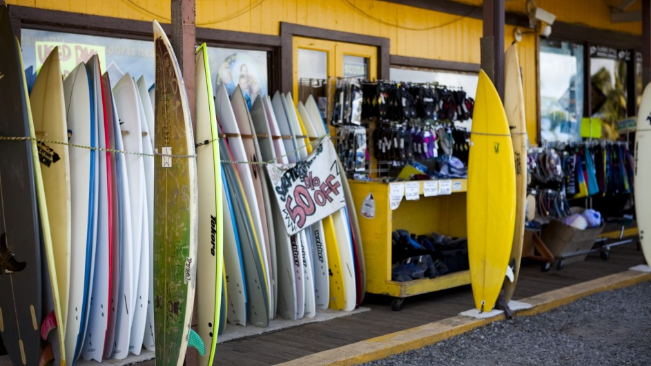USA Hawaii Oahu Surfshop