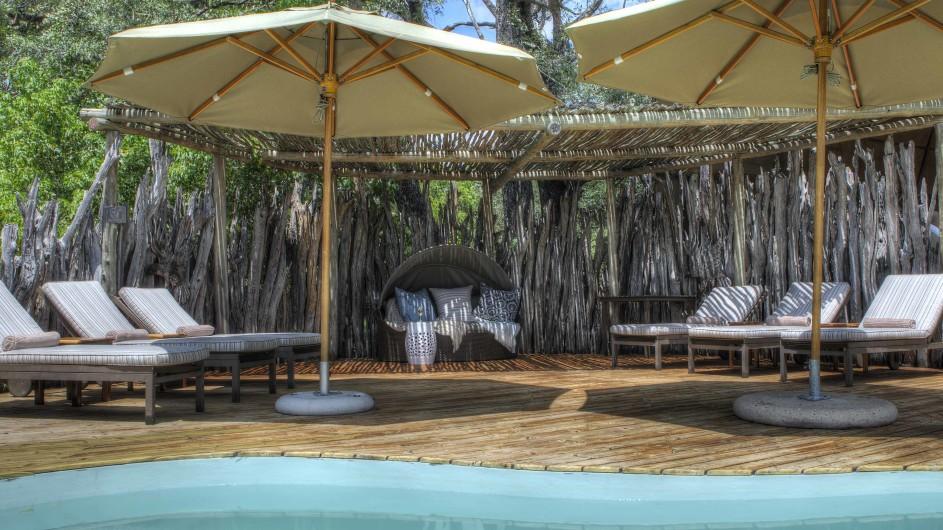 Botswana Moremi Game Reserve Okuti Pool
