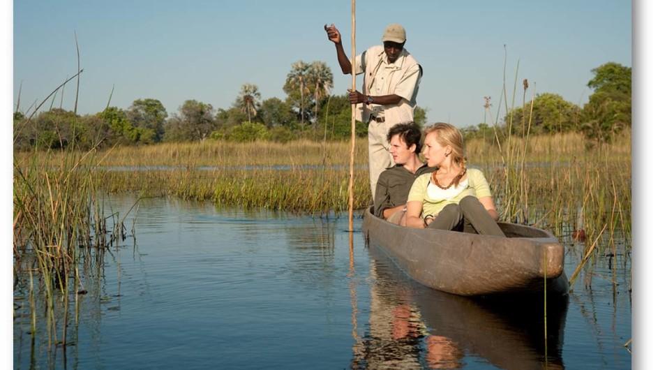Botswana Okavango Delta Mokoro Ausflug