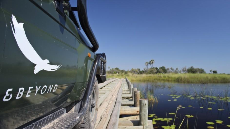 Botswana Okavango Delta Pirschahrt andbeyond