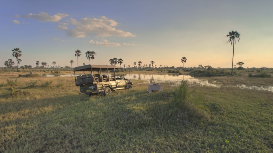 Botswana Okavango Delta Trinkstopp andbeyond