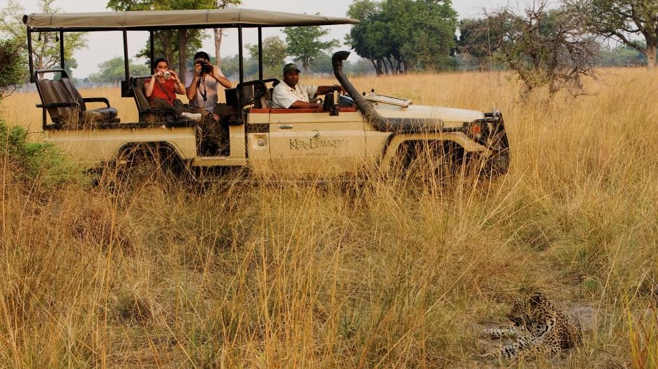 Botswana Okavango Delta Pischfahrt