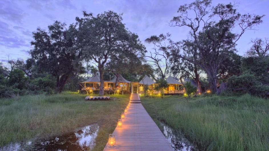 Botswana Okavango Delta Xaranna Camp Ansicht