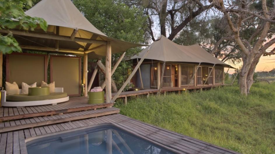 Botswana Okavango Delta Xaranna Camp Zelt